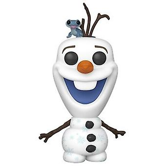 Frozen 2 - Olaf With Fire Salamander USA import