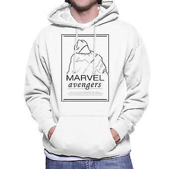 Marvel Musta Pantteri Monarkki Eristäytynyt Men's Huppari