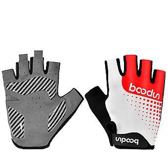 Sports fitness half finger non-slip gloves B04