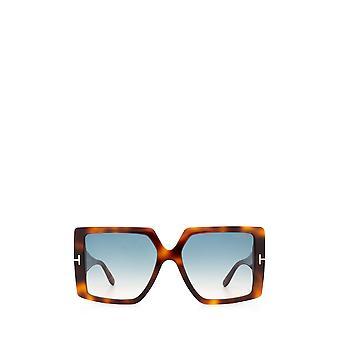 Tom Ford FT0790 loira havana óculos de sol femininos
