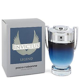 Invictus Legende Eau De Parfum Spray von Paco Rabanne 3,4 oz Eau De Parfum Spray