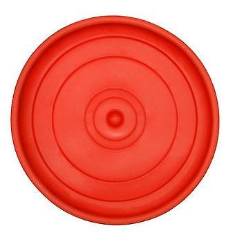 Σκύλος παιχνιδιών pet Frisbee Tpr διατροφή και κατάρτιση διπλής χρήσης διαδραστικό παιχνιδιό