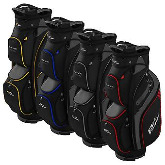 Powakaddy 2021 DLX-Lite Edition 14 Way Key-Lock Durable Golf Cart Bag