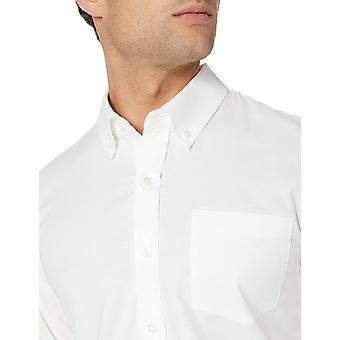 Merk - Goodthreads Men's Slim-Fit Long-Sleeve Rimpelbestendig Comfo...