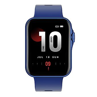 Smart watch for unisex, 1.6 '' Screen, IP67 Waterproof, Bluetooth, Call, Fitness Tracker, Heart Rate for Android IOS-blue