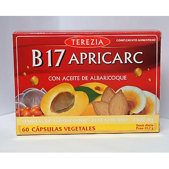 Terezia B17 Apricarc with Apricot kernel oil 60 vegetable capsules