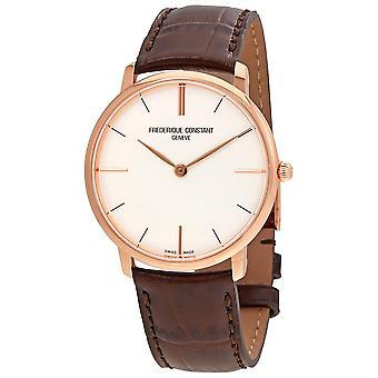 Frederique Constant Slimline Silver Dial Men's Watch FC-200V5S34
