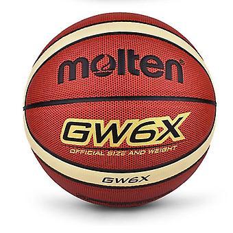 Basquete feminino e feminino, basquete de alta qualidade pu couro ao ar livre