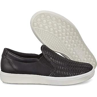 ECCO Women's Zapatos Soft 7 Low Top Slip On Fashion Sneakers