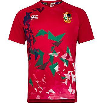 British & Irish Lions Mens Super Lightweight Graphic T Shirt