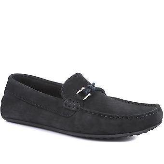 Jones Bootmaker Mens Tempo Nubuck Skinn Loafers
