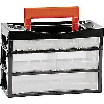 Alutec 66010 Assortment case No. of compartments: 7 1 pc(s)