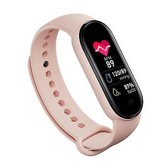 Herzfrequenz Blutdruckmessgerät Bluetooth Smart Armbänder Frauen