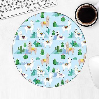 هدية Mousepad : لاماس الصبار اللاتينية