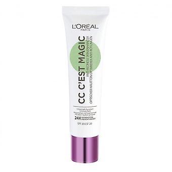 L'Oreal CC C'est Magic Anti-Redness Cream