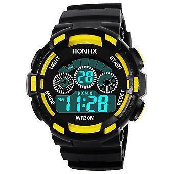 Zegarek dla dzieci, Wodoodporne cyfrowe zegarki sportowe LED, Data alarmu dla dzieci, Digital