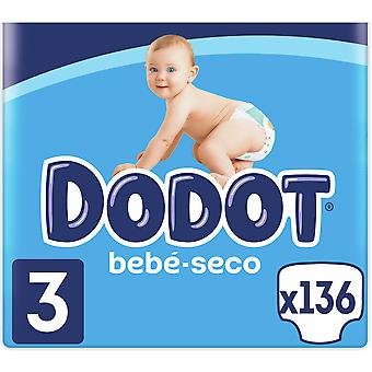 Dodot Diaper Box Stages Size 3 136 units