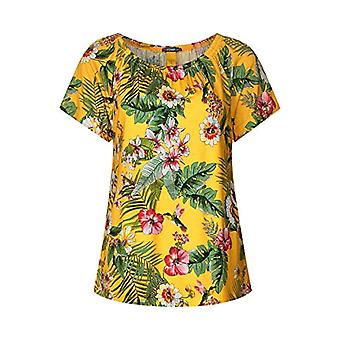 Street One 313583 T-Shirt, Multicolor (Bright Clementine 31804), 40 (Manufacturer Size: 34) Woman
