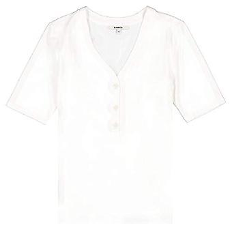 Garcia GS100301 T-Shirt, Dirty White, L Woman