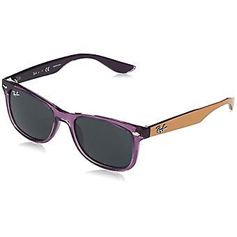راي بان Rj9052s نظارات وايفارر جديدة، الأرجواني شفافة، 47 للجنسين الكبار