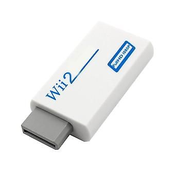 Wii Hassle Plug And Play To Hdmi-compatible,  Converter Adapter, Compatible