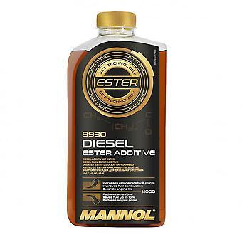 Mannol 1L Diesel Ester Traitement additif de carburant améliorer l'économie de carburant jusqu'à 10%