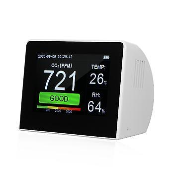 Ordinateur de bureau 3-en-1 détecteur multifonctionnel de qualité de l'air co2 mètre testeur 3,5 pouces hygrothermograph numérique