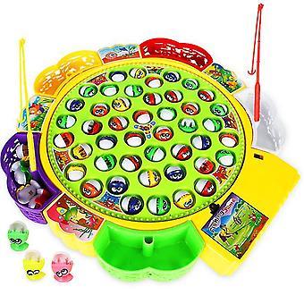 L 2 # צעצועי דיג חשמליים מסתובבים של ילדים, צעצועים אינטראקטיביים להורה-ילד של ילד az6645