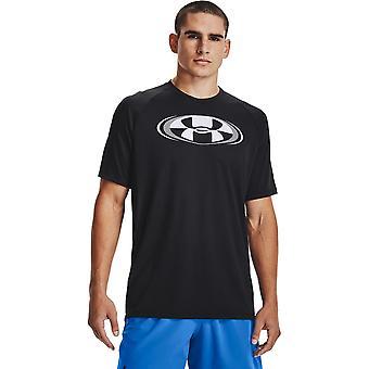 アンダーアーマーテック20サーキット1361699001バドミントンオールイヤーメンズTシャツ