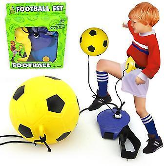 Children football goal post set with ball pump indoor outdoor soccer sport games az15332