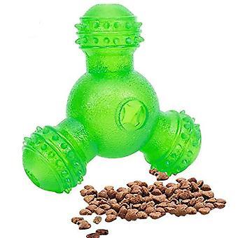 Interaktiivinen koiranhoito pallo lelut pureskella 3 reikää ruoka annostelu nuket dt5784