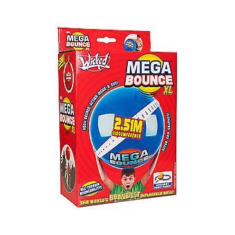 Wicked Mega Bounce XL Worlds Bounciest Aufblasbare Kugel inc Fußpumpe