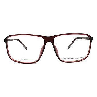 Menns Briller ramme Porsche P8269-C Rød (ø 60 mm)