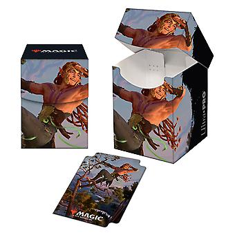 Magic: The Gathering - Kaldheim featuring Tyvar Kell PRO 100+ Deck Box
