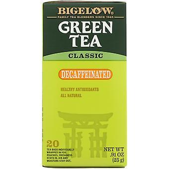 Bigelow Tea Decaf Grn 20Bg, Case of 6 X 0.91 Oz