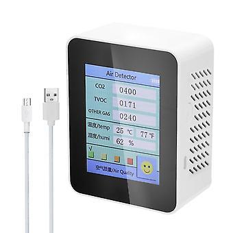 Testeur co2 de détecteur de qualité de l'air domestique avec la valeur de tvoc de dioxyde de carbone