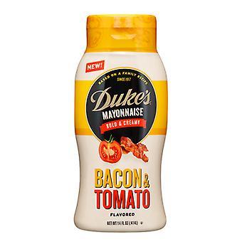Vojvodova majonézová slanina a paradajka ochutené Majonézou