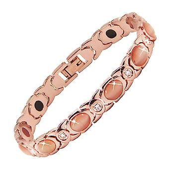 Ladies Bracelets Magnetic Energy Bracelet Stainless Steel Inlaid With Gemstone Jewelry For Women