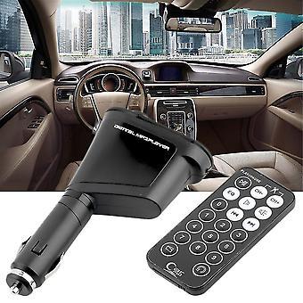 Car Mp3 Player Wireless Music Fm Transmitter Modulator Usb & Remote Control