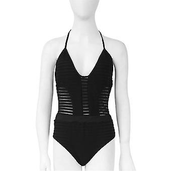 Diseño elegante de moda Mujeres Lady One Piece Bikini Bandage Set Summer Beachwear