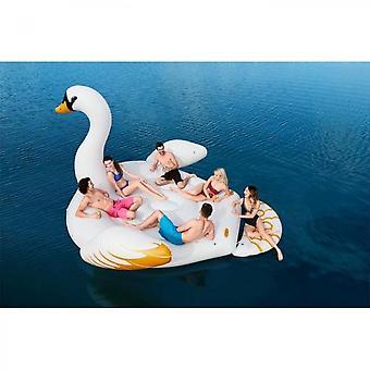 Bestway Inflatable Giant Buoy Island Swan 6 People 429 X 330 Cm