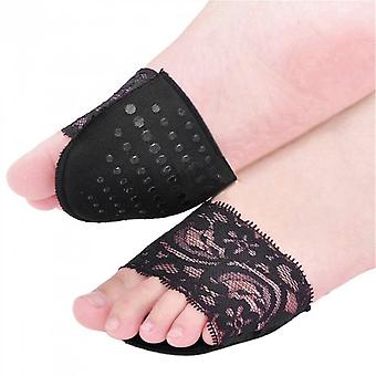 1 Pair Forefoot High Heeled Shoes Slip Resistant Half Yard Cotton Pads Insoles