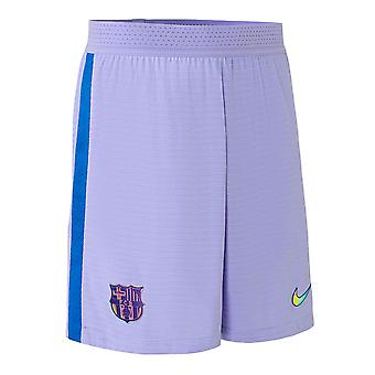 2021-2022 Barcelona Away Shorts (Purple) - Kids