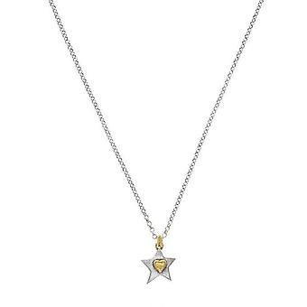 Silver Star hänge Charm Halsband