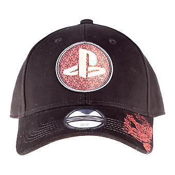 Playstation Biker Japanische Logo Schleife Mütze