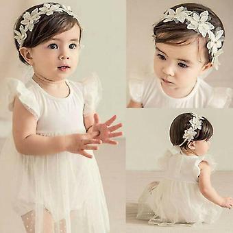 طفل الشيفون طفل زهرة القوس الشعر باند