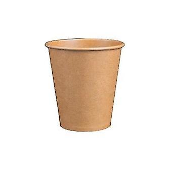Tasse de café en papier jetable avec couvercle - Tasse de thé écologique
