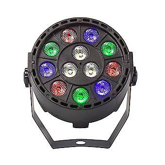 Wireless Remote Control Rgbw Uv Disco 12 Led Stage Lighting Effect Light