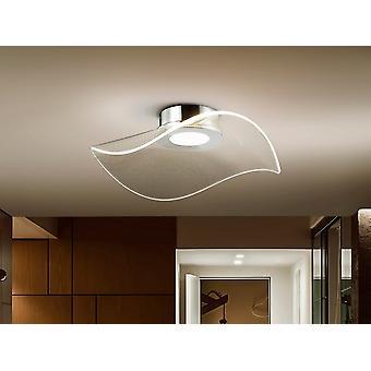 Schuller Vento Modern Designer Flush LED Plafondlamp, 1180lm, 3000K