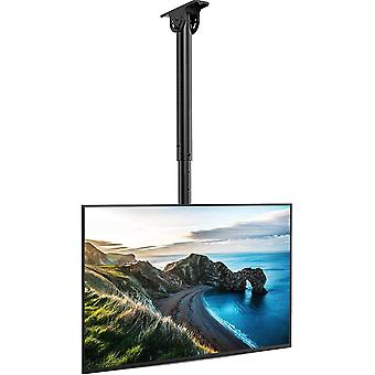 PERLESMITH Decken-TV-Halterung, einstellbarer schwenkbarer TV-Ständer für 26-55-Zoll-Bildschirm - Full Motion Ceiling